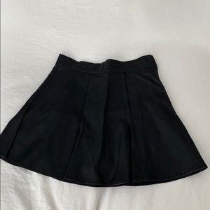 MINKPINK faux leather pleated skirt